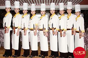 美女厨师团队