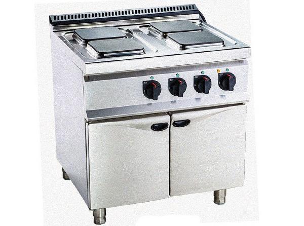 厨配宏方形电热平头炉