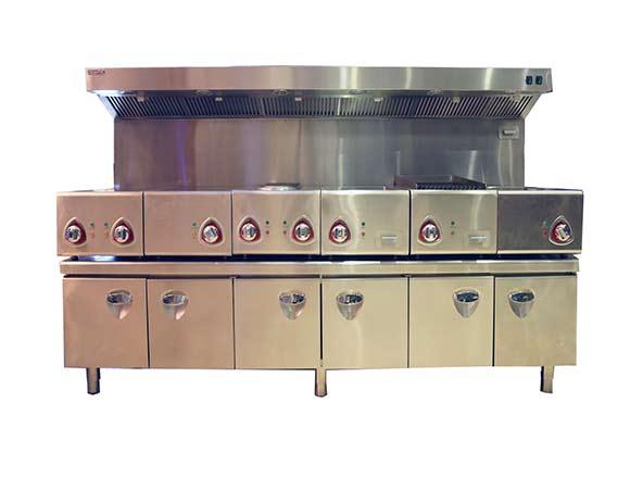厨配宏西餐组合炉
