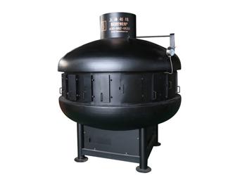 UFO炭火烤鱼炉(黑)