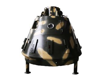 太空舱烤鱼炉
