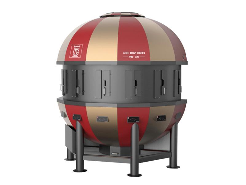 热气球烤鱼炉