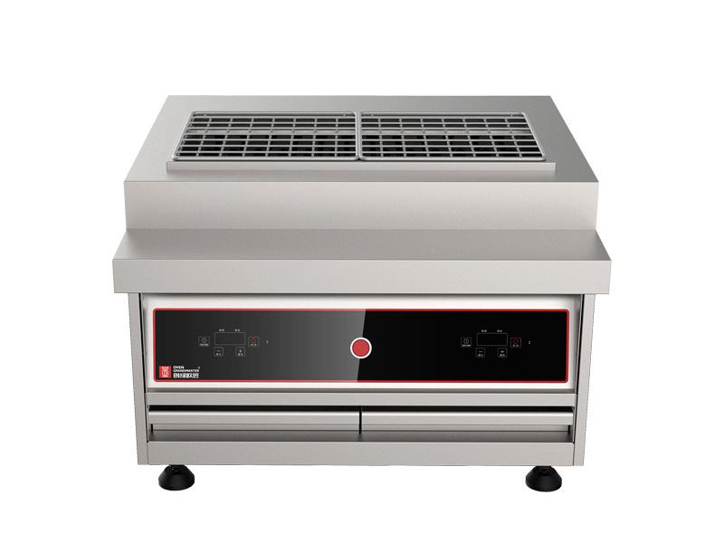 仿木炭型烧烤炉C款